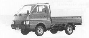 Nissan Vanette Truck SUPER LOW 1500DX 1991 г.