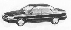 Isuzu Aska TYPE-G 1991 г.