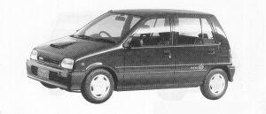 Daihatsu Mira 5DOOR J-TURBO 1991 г.