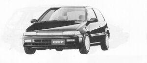 Honda City CR-I 1991 г.