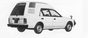 Toyota Corona HIGH ROOF VAN 1991 г.