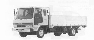 Isuzu Forward 195PS 4.25T 1991 г.