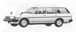 Toyota Mark II VAN 2400 DIESEL DX 1991 г.