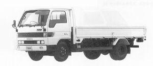Mazda Titan 2T STANDARD CAB LONG BODY 3500CC TURBO 1991 г.