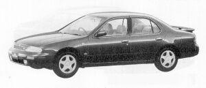 Nissan Bluebird 4DOOR SEDAN 2000SSS-G 1991 г.