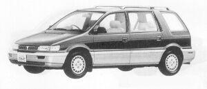 Mitsubishi Chariot MX 1991 г.