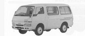 Isuzu Fargo VAN LS 4WD 1991 г.