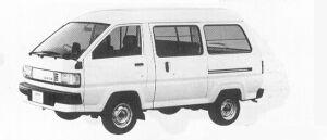 Toyota Liteace VAN SUPER SINGLE 5DOOR SUPER 1991 г.