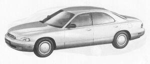 Mazda Sentia 25 LIMITED 1991 г.