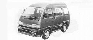 Daihatsu Atrai TURBO-XX FULL TIME 4WD 1991 г.