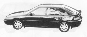 Mazda Familia ASTINA 1800 DOHC 16VALVE 1991 г.