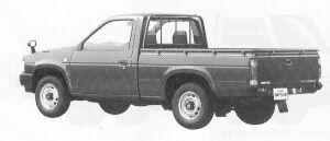 Nissan Datsun 2WD STANDARD BODY 2000GL 1991 г.