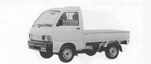 Daihatsu Hijet 4WD DOWNDECK SUPER DELUXE 1991 г.