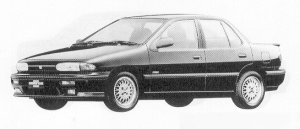Isuzu Gemini SEDAN 1600 DOHC ZZ 1991 г.