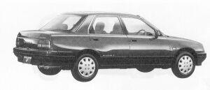 Daihatsu Applause FULL TIME  4WD 16ZI 1991 г.