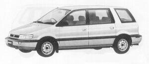 Mitsubishi Chariot MF 1991 г.