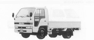 Isuzu Elf 1.5T FLAT LOW, LONG BODY 4WD 1991 г.