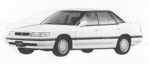 Subaru Legacy 4WD 4DOOR SEDAN 2.0L VZ 1991 г.