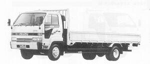 Isuzu Forward JUSTON 195PS 4T 1991 г.