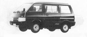 Nissan Vanette VAN 4WD 5DOOR DIESEL 2000DX 1991 г.