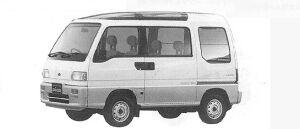 Subaru Sambar TRY DIAS (2WD) ECVT 1991 г.