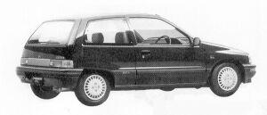 Daihatsu Charade WILL 1.0 3DOOR 1991 г.
