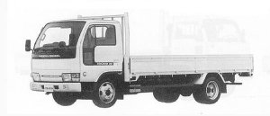 Nissan Diesel Condor 20 LONG, SUPER LOW, REAR WIDE 1991 г.