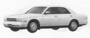 Nissan Cedric RD28 BLOAM 1991 г.