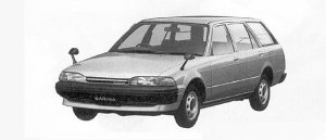 Toyota Carina VAN 1500SG 1991 г.