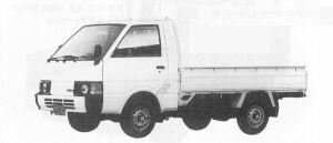 Nissan Vanette Truck LONG SUPER LOW DIESEL 2000DX 1991 г.