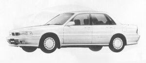 Mitsubishi Galant 2.0 DOHC MX 1991 г.