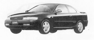 Toyota Corolla Levin GT-APEX SUPERSTRAIT 1991 г.