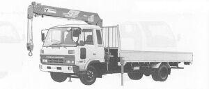 Nissan Diesel Condor HYPER, CAB BACK CRANE 1991 г.