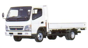 Mitsubishi Fuso CANTER Wide All Low Floor, 4WD, Long Body Truck 2005 г.