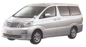 "Toyota Alphard V MZ  ""G Edition"" 7-seaters 2005 г."