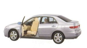 Honda Inspire 30TL Swiveling Passenger Seat Version 2005 г.