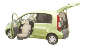 Honda Life F FF Lift-up Passenger Seat Version 2005 г.