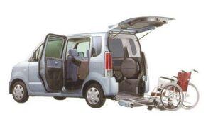 Suzuki Wagon R for Wheelchair Users 2005 г.