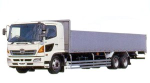 Hino Ranger GK Low Floor 6X4 12.5ton Aluminum Block 2005 г.