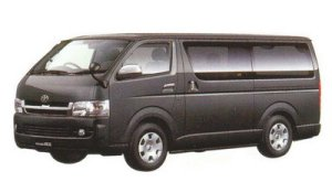 Toyota Regiusace VAN 2WD, Long Van,  2/5-Seater, 5Door, Super GL 2005 г.