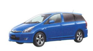"Toyota Wish X ""Aero Sports Package"" 2WD 2005 г."