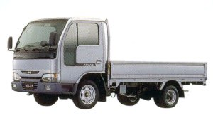 Nissan Atlas 10  2000 Super Low Body, Manual Transmission, Steel Carrier 2005 г.