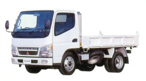 Mitsubishi Fuso CANTER Hingh Floor Reinforced Dump 2005 г.