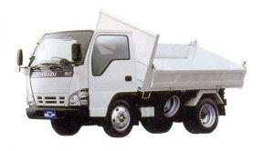 Isuzu Elf Smoother-E, Three-way Dump Truck Reinforced Tupe, Flat High Deck,  Standard Body 2005 г.