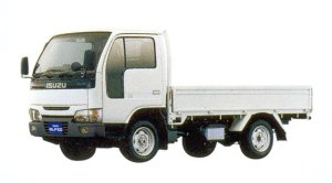 Isuzu Elf 100 4WD Flat Low, Standard Body 2005 г.