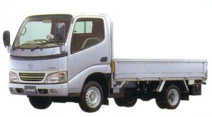 "Toyota Dyna CARGO 2WD, Long Deck, Just Low, 1.5ton ""G Package"" 2005 г."