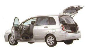 Suzuki Aerio Passenger Swivel Seat Car 2005 г.