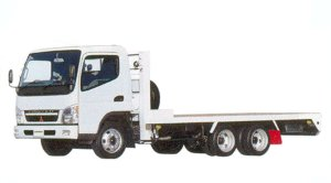 Mitsubishi Fuso CANTER Heavy Duty Transportation Truck 2005 г.