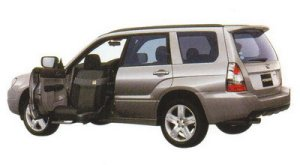 Subaru Forester Trans Care Wihg Seat Lift Type 2005 г.