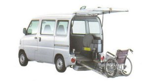 Mitsubishi Minicab Wheelchair Spec.Kneel-down Type 2005 г.